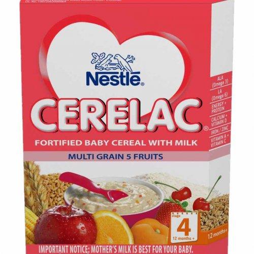 Cerelac Multi Grain 5 Fruits 350G Stage 4