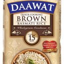 Daawat Brown Basmati Rice 1Kg Jar