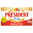 President Unsalted Butter250gm