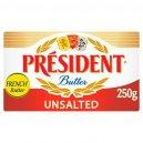 President Unsalted Butter250gm