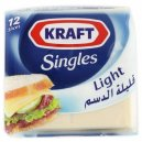 Kraft 12 Singles Light 250G