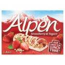 Alpen 5 Bar Strawberry&Yoghurt 145G