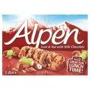 Alpen 5 Bar Fruit Nut&Choc 145G