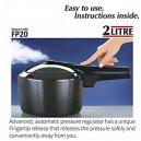 Futura Pressure Cooker 2Ltr Fp20
