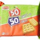 Britannia 50-50 Biscuits 150gm