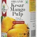 24 Mantra Organic Kesar Mango Pulp 850gm
