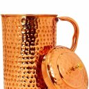 Goyal Hammered Steel Copper Jug