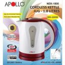 Apollo Kettle Jug 1.8Ltr Nek-1800