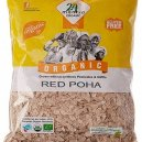 24 Mantra Organic Red Poha 500gm