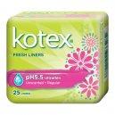 Kotex Fresh Liners Ph5.5 Regular