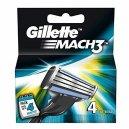 Gillette Mach3 4Cartridges