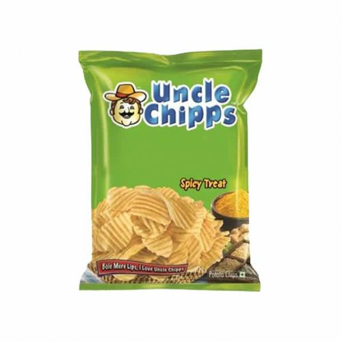 Uncle Chipps Plain Salted/Spicy Treat 55g