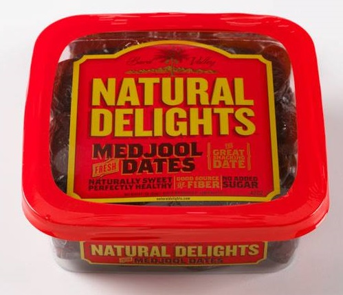 *Natural Delights Medjool Dates 454gm