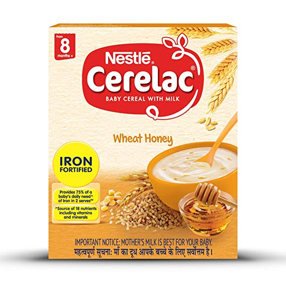 Cerelac Wheat Honey Stage 2(350G)