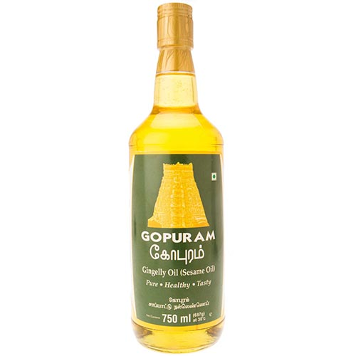 Gopuram Gingelly Oil 750ml