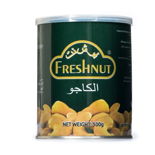 Freshnuts Roasted & Salted Cashews 500g
